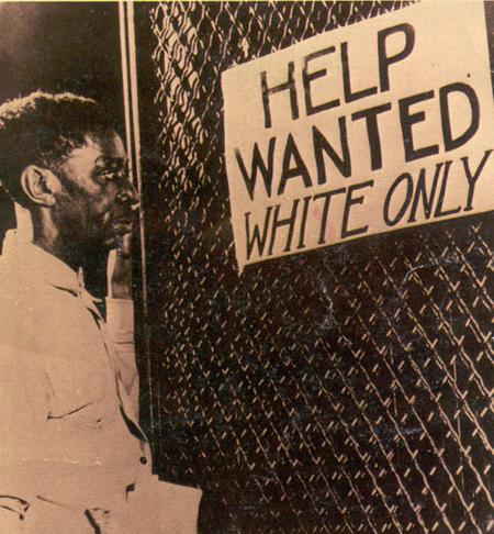 Black racial discrimination